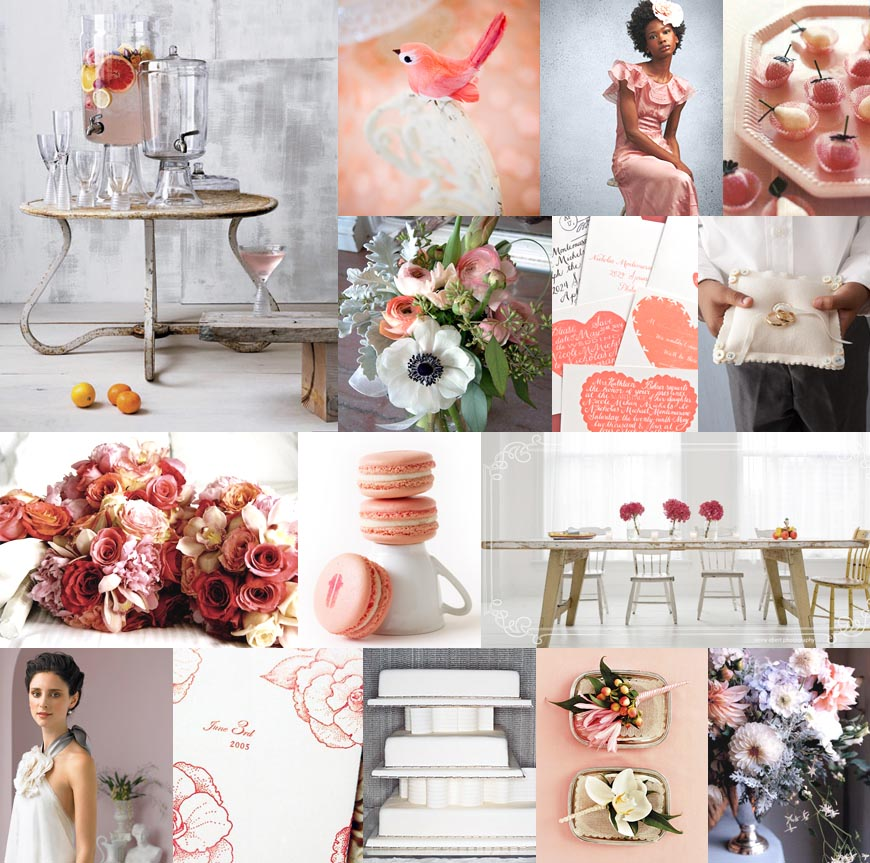 Pale pink makes a bold statement Red and pink will never be considered to