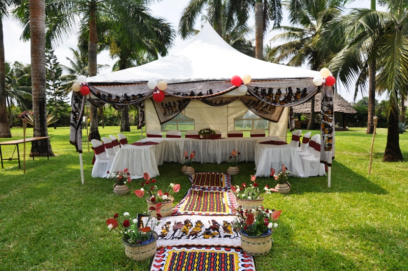 African Wedding Decor Theme